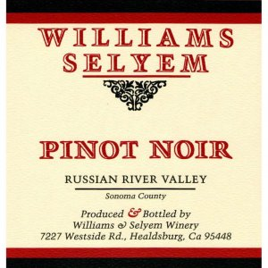 2019 Williams Selyem Pinot Noir RRV