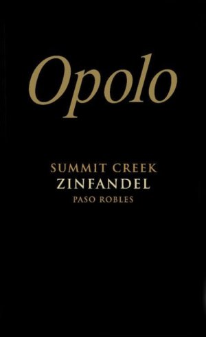 2018 Opolo Zinfandel Summit Creek