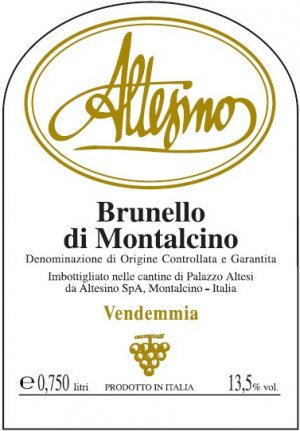 2014 Altesino Brunello di Montalcino 375 ml