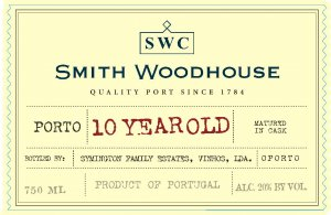 N.V. Smith Woodhouse 10 Year Old Tawny Port