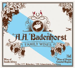2012 A. A. Badenhorst Family Wines Family Red Blend