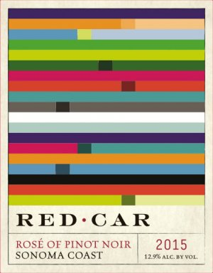 2015 Red Car Rose of Pinot Noir 1.5 L