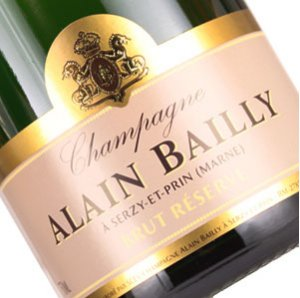 N.V. Alain Bailly Brut Reserve 375 ml