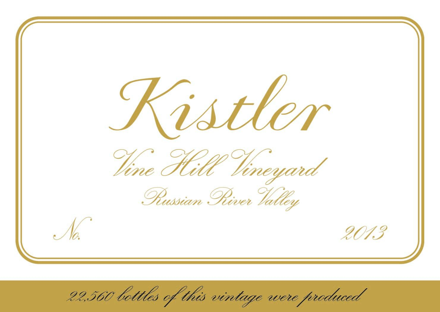 2014 Kistler Chardonnay Vine Hill Road Vineyard