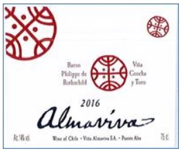 2016 Vina Almaviva Proprietary Red