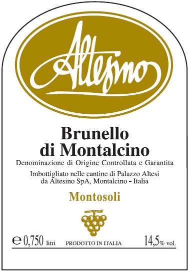 Altesino Brunello di Montalcino Montosoli Vineyard 1.5 L