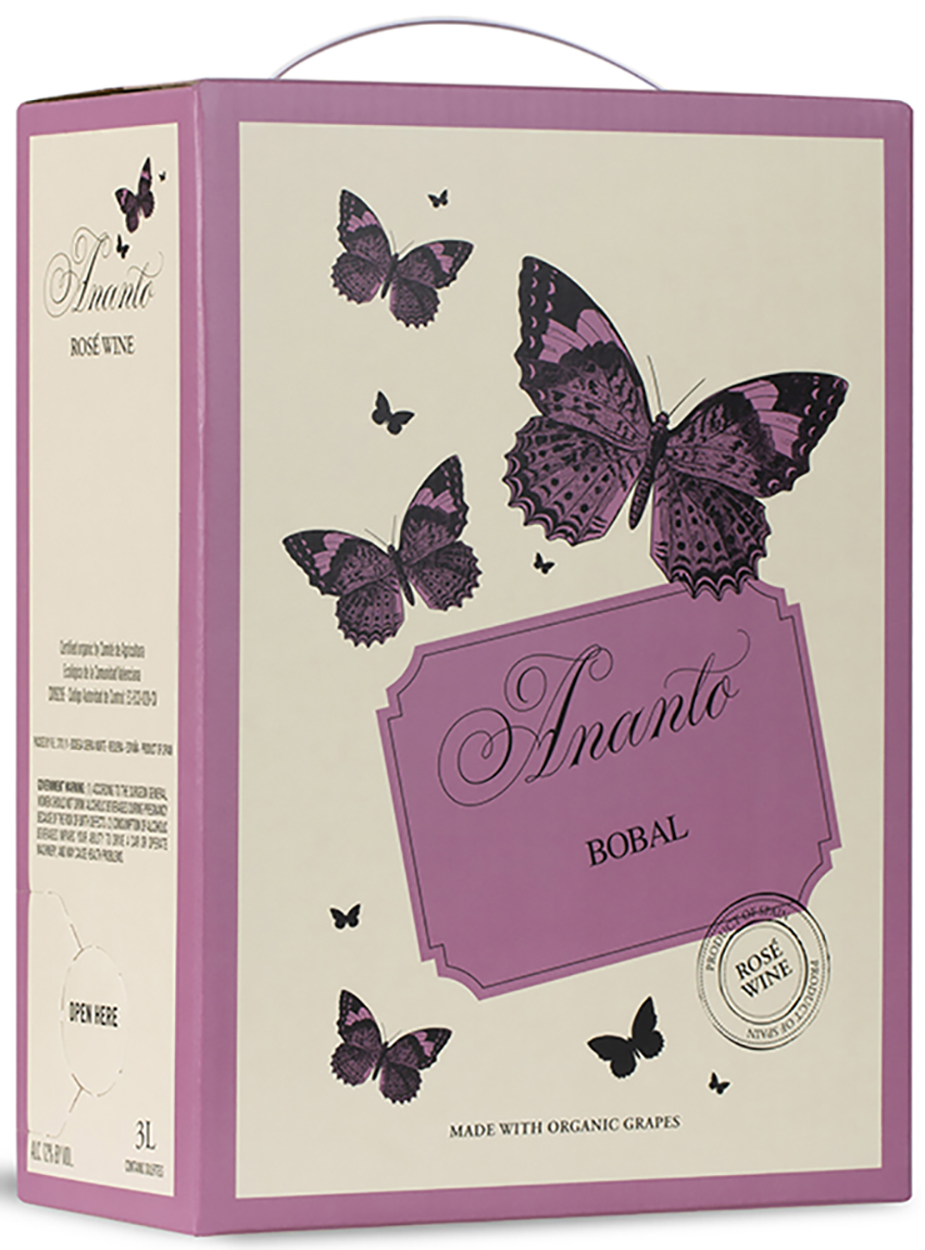 2019 Ananto Bobal Rosado (Rose) Bag in Box 3.0 L
