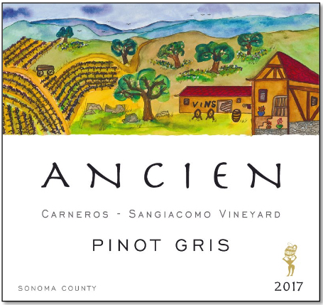 Ancien Pinot Gris Sangiacomo Vineyard