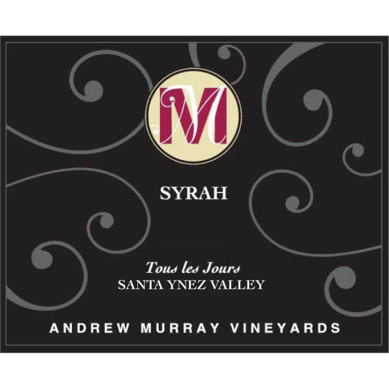 2016 Andrew Murray Vineyards Syrah Tous Les Jours