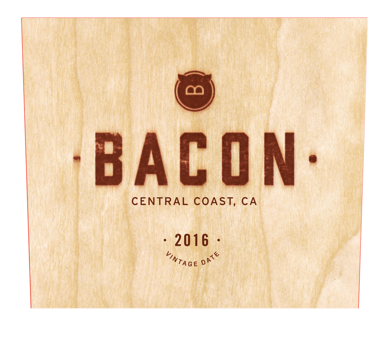2016 Bacon Red Blend