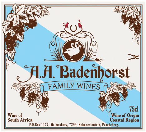 2012 A A Badenhorst Family Wines Family Red Blend