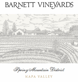 Barnett Vineyards Cabernet Sauvignon Spring Mountain