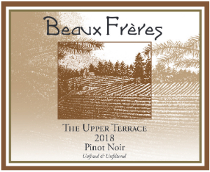 2018 Beaux Freres Pinot Noir The Upper Terrace Vineyard