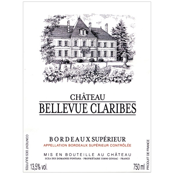 2016 Chateau Bellevue Claribes