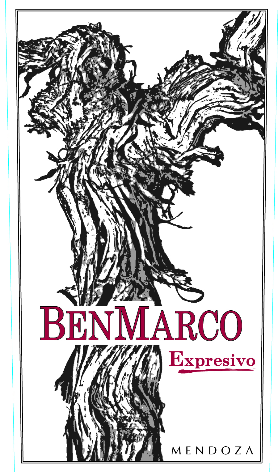 2014 Benmarco Expresivo Proprietary Red Blend