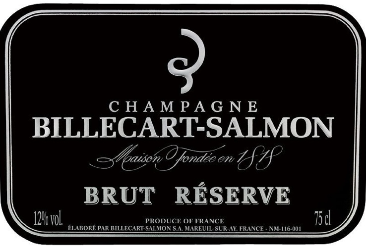 N.V. Billecart-Salmon Brut Reserve 375 ml