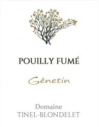 2018 Domaine Tinel-Blondelet Pouilly-Fume Genetin