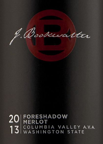 2013 Bookwalter Merlot Foreshadow
