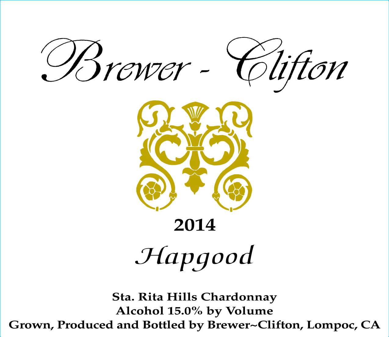 Brewer-Clifton Chardonnay Hapgood Vineyard