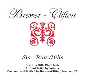 2016 Brewer-Clifton Pinot Noir SRH