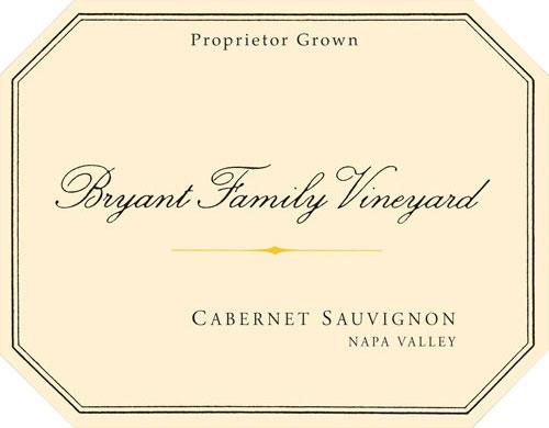 Bryant Family Vineyard Cabernet Sauvignon 25th Anniversary