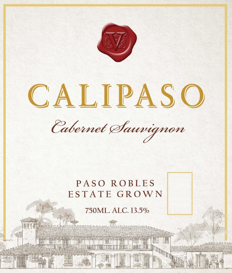 2017 Calipaso Cabernet Sauvignon Estate Grown