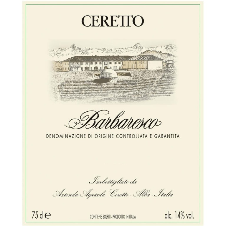 2016 Ceretto Barbaresco