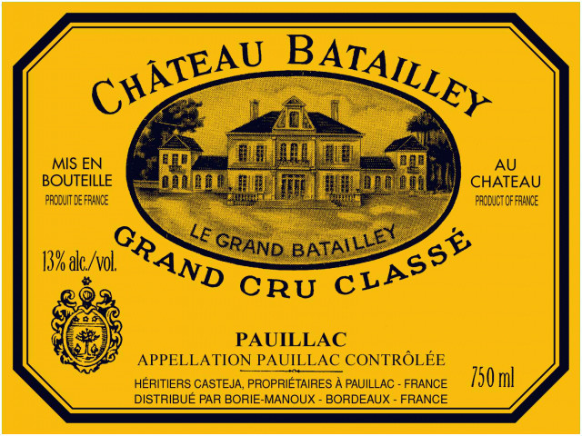 2005 Chateau Batailley 1.5 L