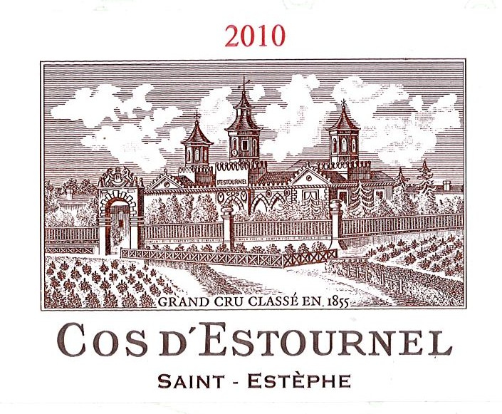 2010 Chateau Cos d' Estournel