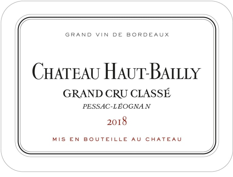 2014 Chateau Haut-Bailly 375 ml