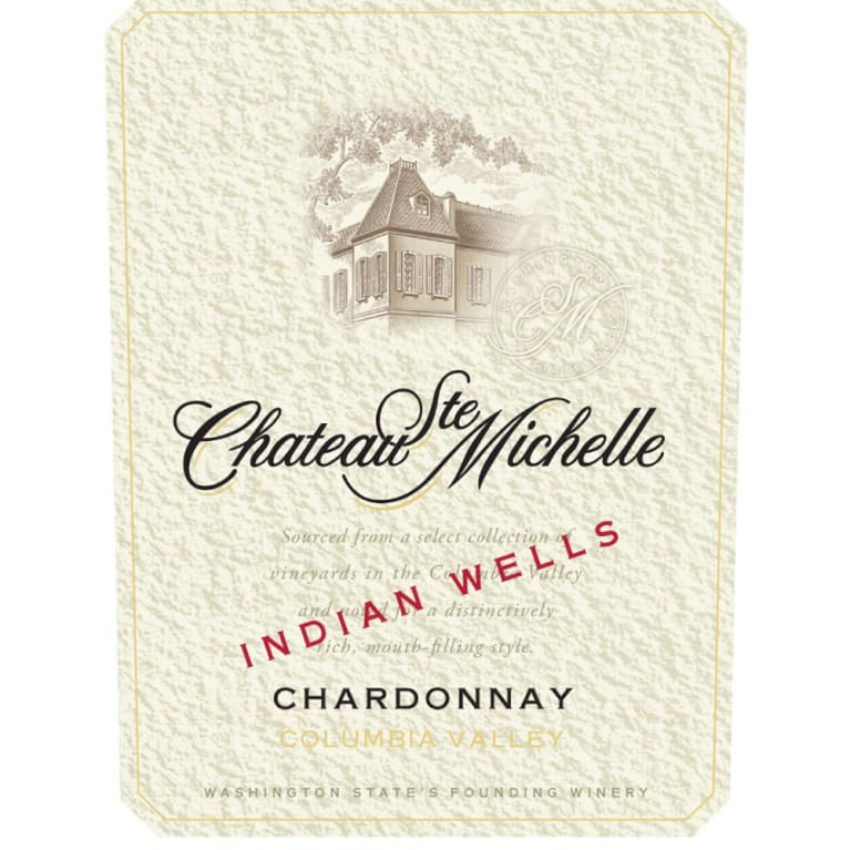 2016 Chateau Ste. Michelle Chardonnay Indian Wells Vineyard