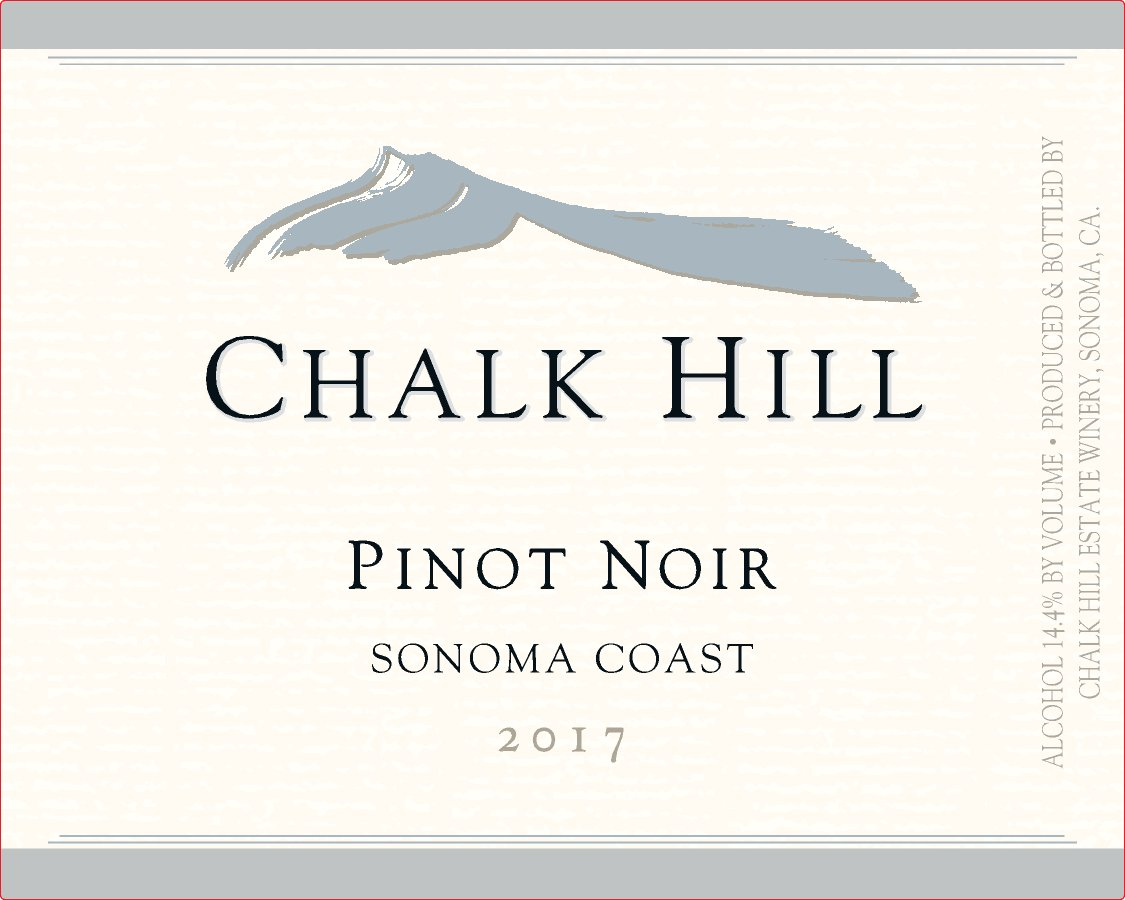 2017 Chalk Hill Pinot Noir