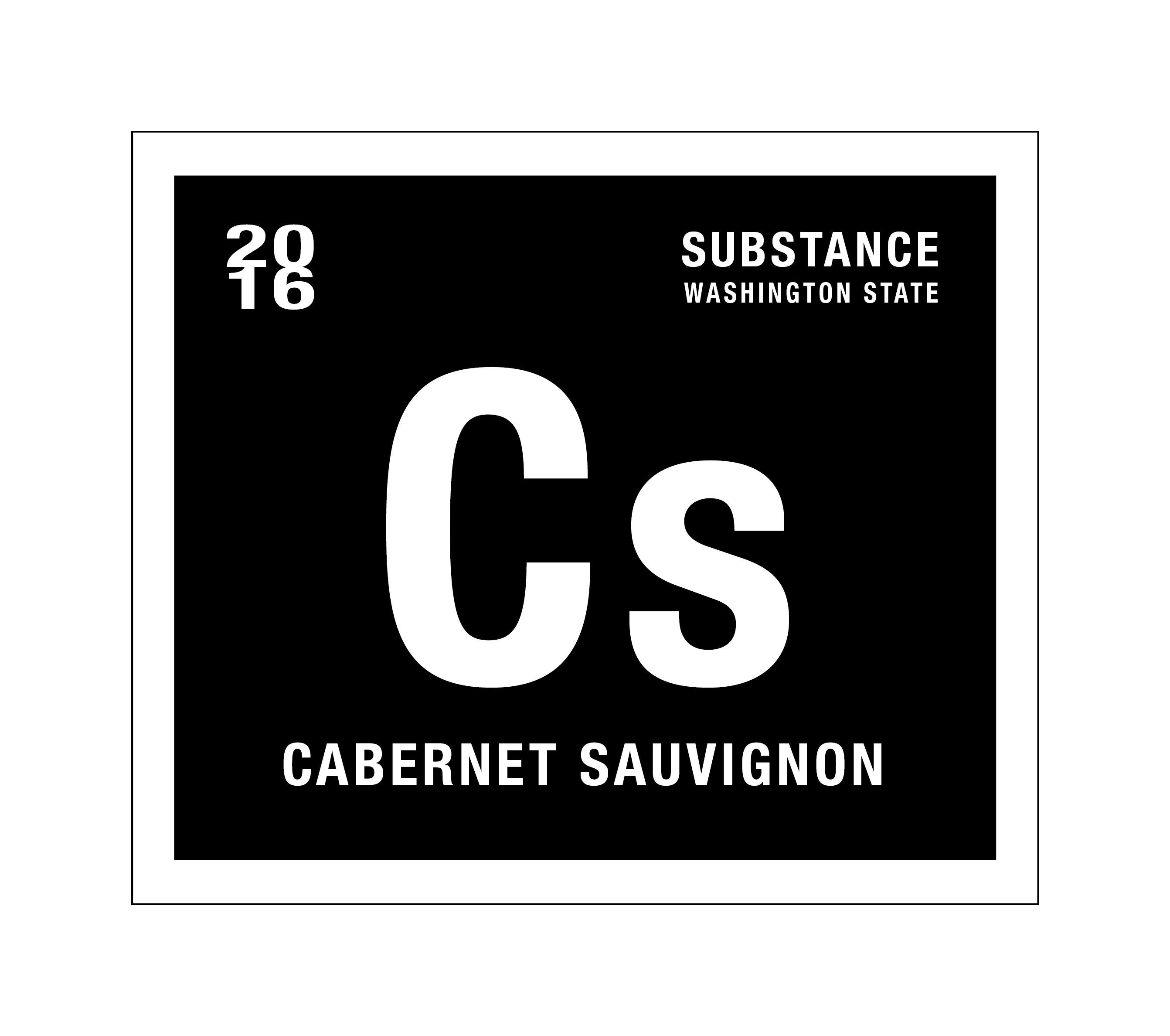 2016 Charles Smith Substance Cs Cabernet Sauvignon