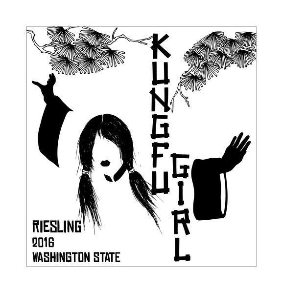 Charles Smith Riesling Kung Fu Girl Evergreen Vineyard