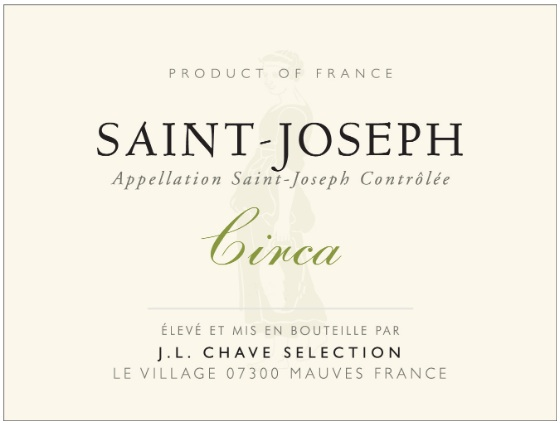 J. L. Chave Saint-Joseph Blanc Circa - Click Image to Close