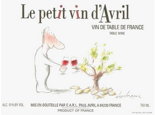 N.V. Clos des Papes Jean Avril Le Petit Vin d'Avril Vin de Table