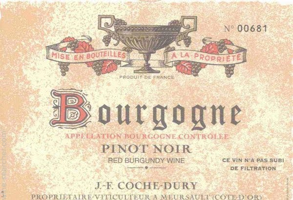 Domaine Coche-Dury Bourgogne Rouge