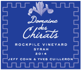 Jeff Cohn Cellars Syrah Domaine Des Chirats Rockpile Vineyard