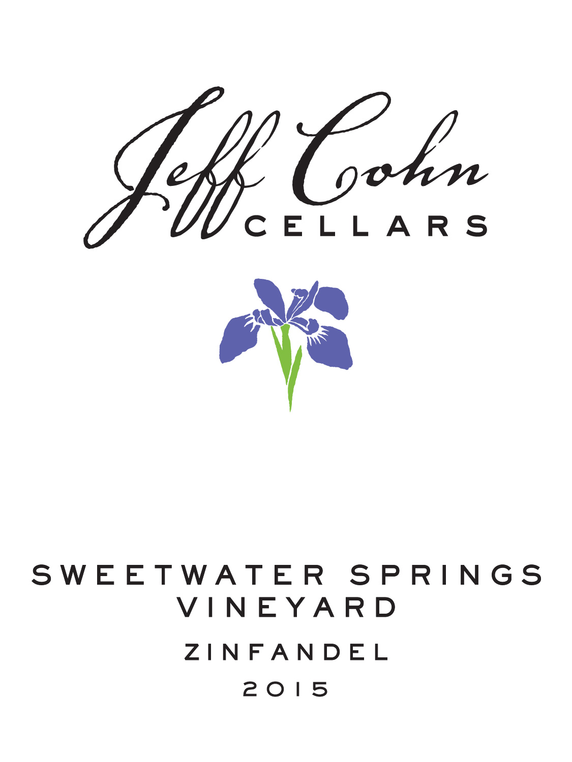 Jeff Cohn Cellars Zinfandel Isabel Sweetwater Springs Vineyard