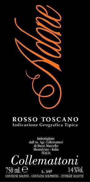 2017 Collemattoni Adone Rosso Toscano IGT