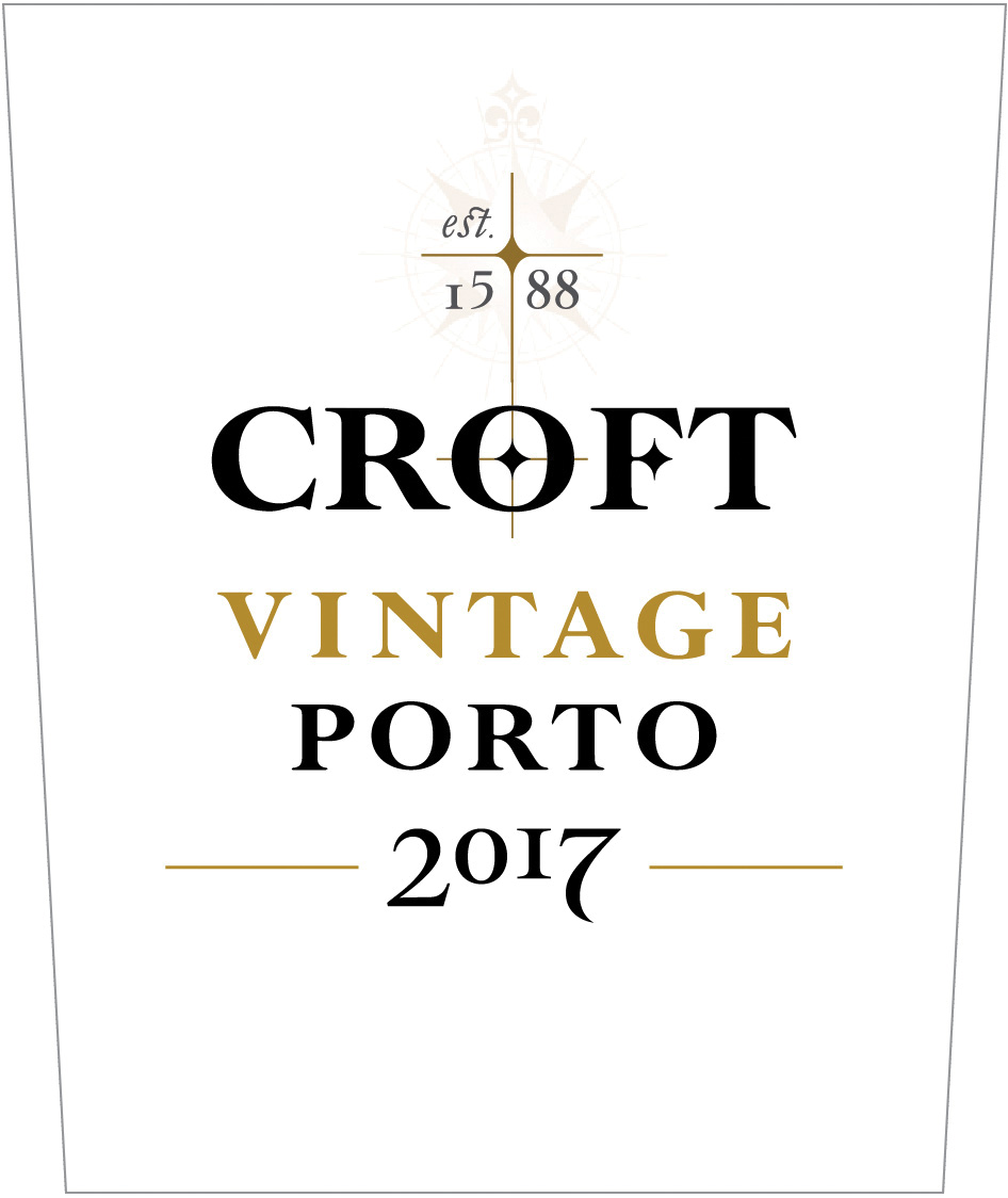 2017 Croft Vintage Porto 375 ml