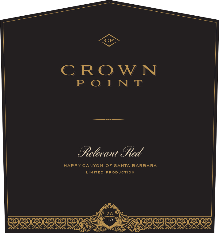 2013 Crown Point Relevant Red Blend