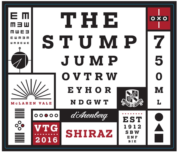 2013 d' Arenberg The Stump Jump Shiraz