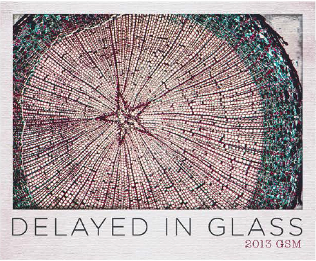2013 Delayed in Glass GSM Red Blend