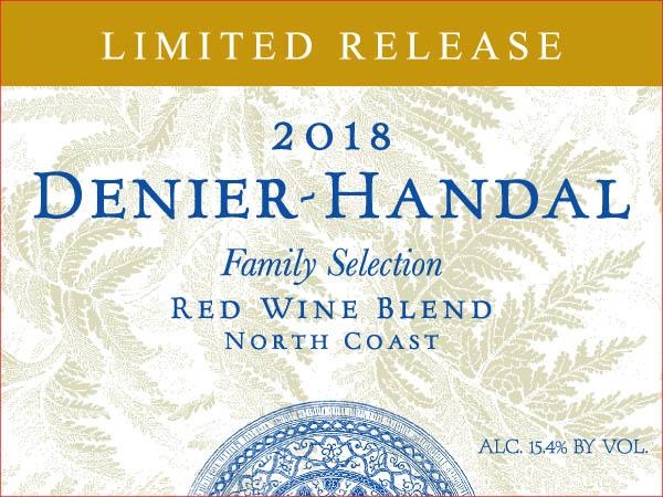 2014 Denier-Handal Family Selection Red Blend Venturi Family Vineyard