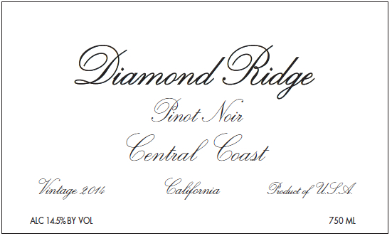 Diamond Ridge Pinot Noir