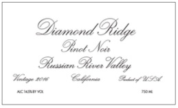 2016 Diamond Ridge Pinot Noir RRV
