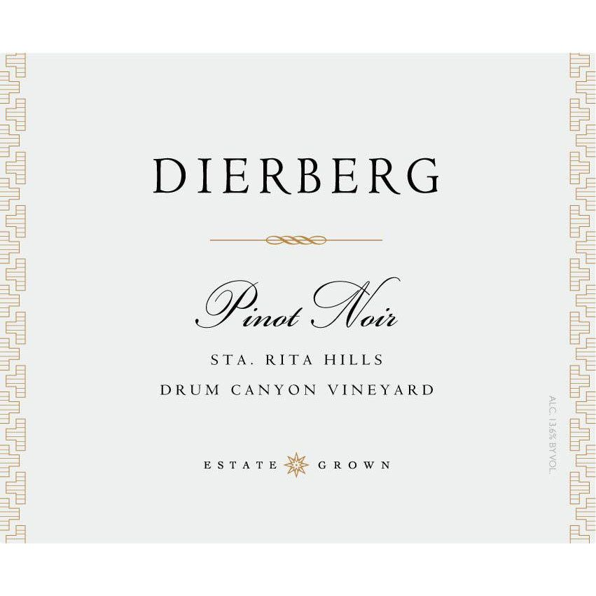 Dierberg Pinot Noir Drum Canyon Vineyard