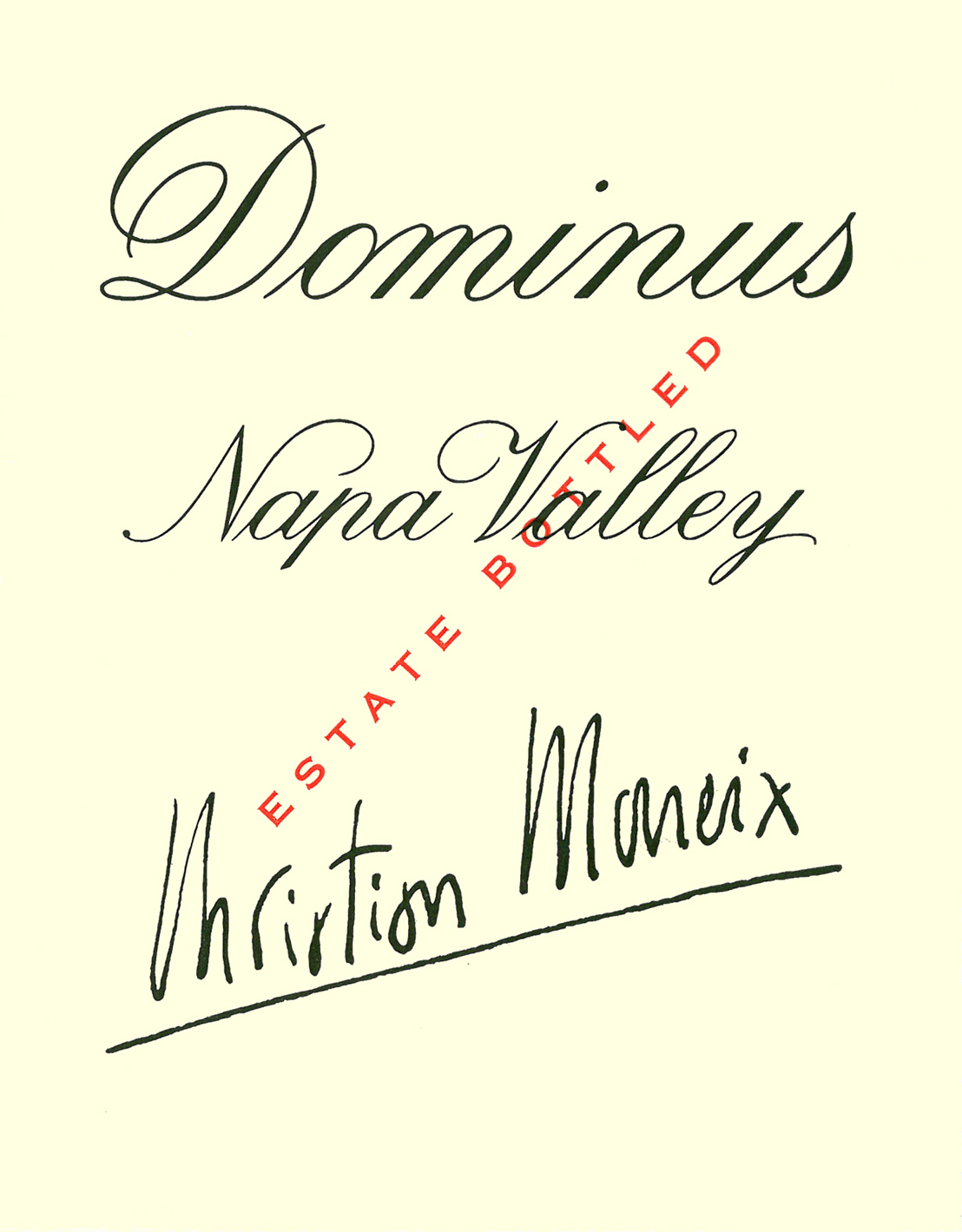 Dominus Estate Proprietary Red 375 ml
