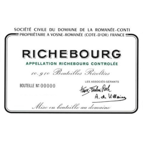 2016 Domaine de la Romanee-Conti Richebourg Grand Cru